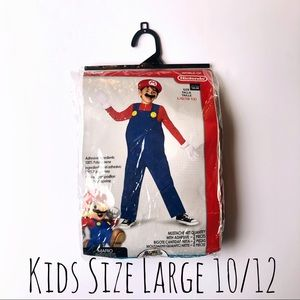 Other - SOLD Boys Mario Costume Large 10/12